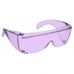 Image showing a pair of 26% Purple medium plastic fitovers