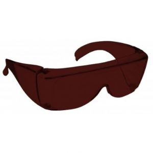 Image showing a pair of 3% Plum medium plastic fitovers
