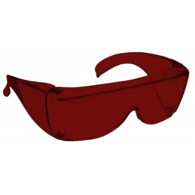 Image showing a pair of 5% Red Medium Plastic Fitovers