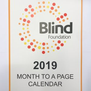 2019 Wall Calendar month per page front cover