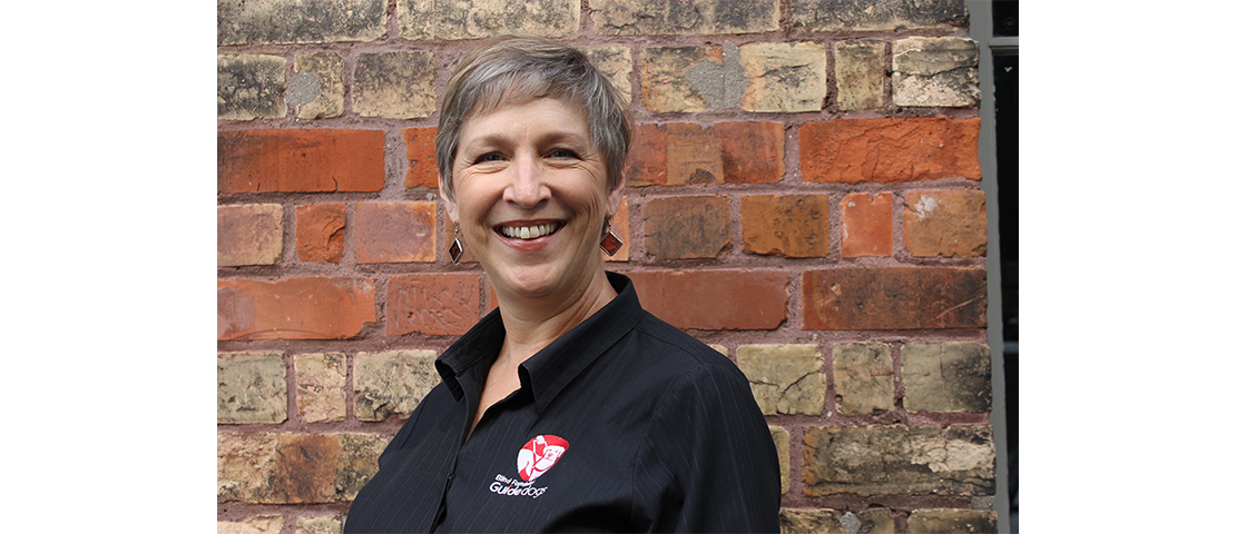 Wendy Mellberg-Haecker is smiling