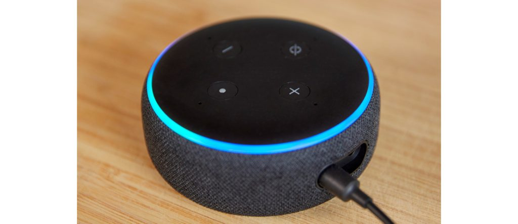 Alexa Echo Dot smart speaker