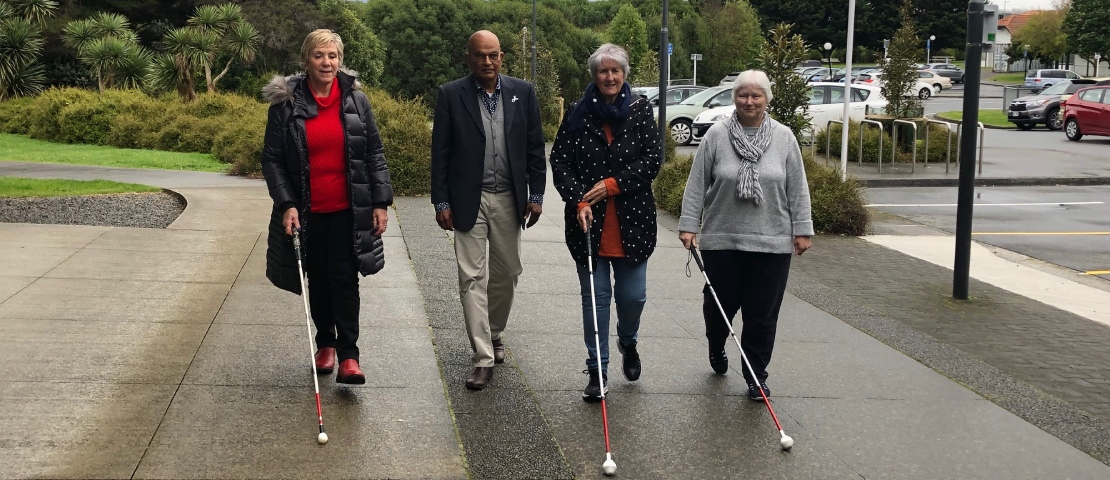 From left to right: Kapiti Mayor K Gurunathan, Gail Mann, Sue Emirali and Debra Duncan.