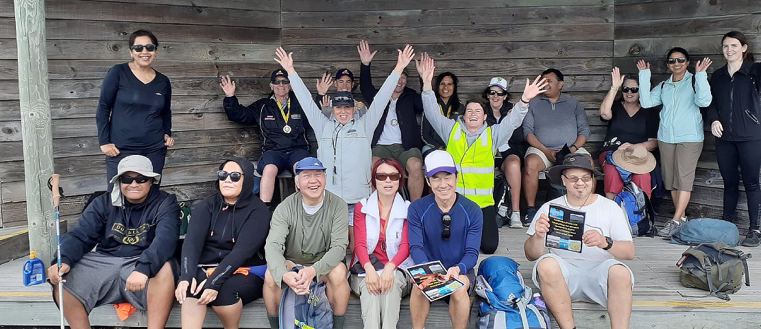 members in Rangitoto Island