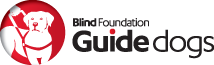Blind Foundation guide dogs logo