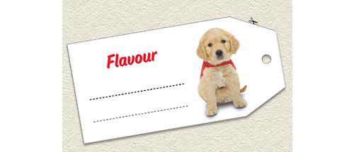 Flavour lable
